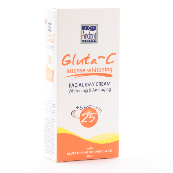 Gluta-C Intense Whitening Facial Day Cream with Glutathione; Vit.C;A & E 30ml