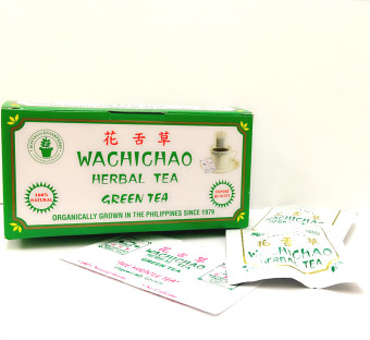Herbal Wachichao Herbal Green Tea 12s