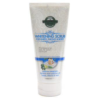 Hollywood Style Whitening Facial Scrub For Men