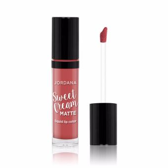 Jordana Sweet Cream Matte Liquid LipColor - 07 TIRAMISU