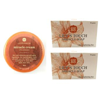 Lily's Touch Miracle Cream 50ml FREE 2 Miracle Soap 90g