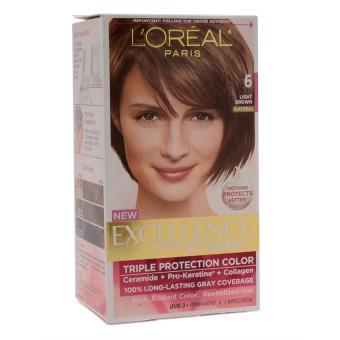 Loreal Paris Excellence Cream Hair Color 5 Natural Light Brown  Lazada PH