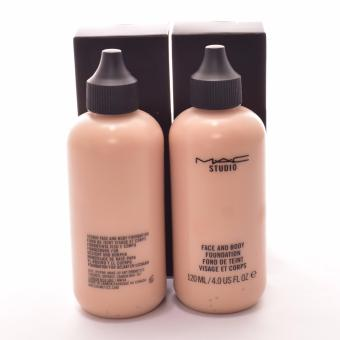 MAC Face and Body Foundation 120ml NC2 Bottle of 2