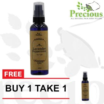 Massage Oil - Precious Pad Lavander and Peppermint Massage Oil100ml - BUY 1 TAKE 1