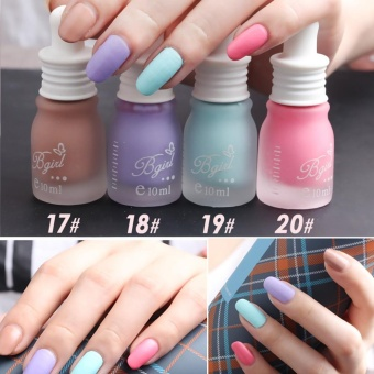 New Fragrance Frosted Matte Bottle Nail Polish Candy 30 Colors 10ML- intl
