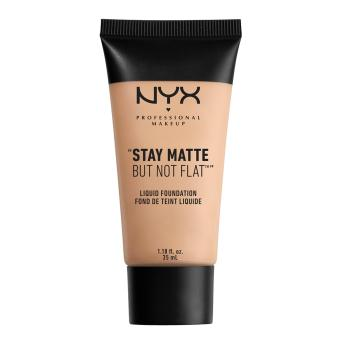 NYX Professional Makeup SMF04 Stay Matte But Not Flat Liquid Foundation - Creamy Natural