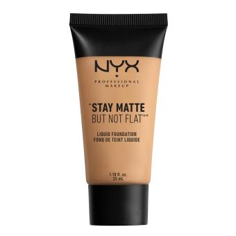 NYX Professional Makeup SMF07 Stay Matte But Not Flat Liquid Foundation - Warm Beige