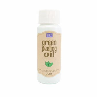 P&P Green Peeling Oil for Face 30ml