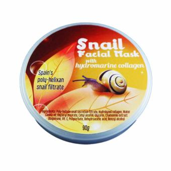 P&P Snail Facial Mask with Hydromarine Collagen 90g