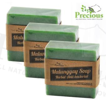 Precious Pad Nature's Malunggay Soap Herbal Anti-bacterial - SET OF 3