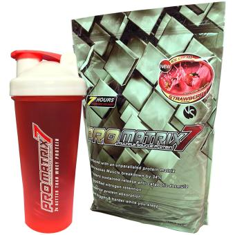 ProMatrix 7 5lb Multiple Source Protein with Shaker (Strawberry)