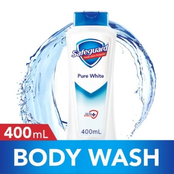 Safeguard(TM) Pure White Body Wash 400ml