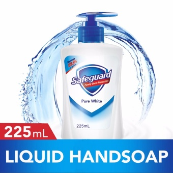 Safeguard(TM) Pure White Liquid Handsoap 225ml