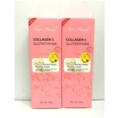 Set of 2 Nature Beauty Collagen and Glutathione Peeling Cream Whitening Philippines