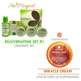 Skin Magical Rejuvenating Set #1 and Lily's Touch Miracle Cream 50ml