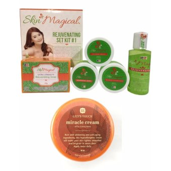 Skin Magical Rejuvenating Set 1 + Lily's Touch Miracle Cream 50ml