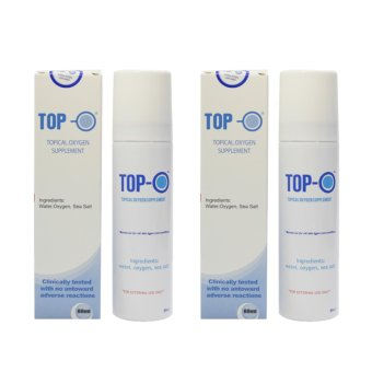 TOP-O-02 TOPICAL OXYGEN SUPPLEMENT 80 ML Set of 2