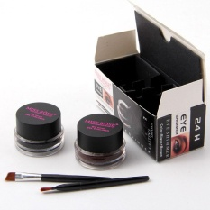 Two-Colors Eyeliner Cream Long-Lasting Waterproof Fast Drying Natural Cosmetic - intl Philippines