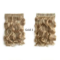 PHP 373. Women Girls Long Curly Hair Piece Wig Clip in Hair Extensions ...