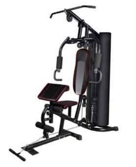 AG422-home gym with Safety Net-Avant Garde (Black)