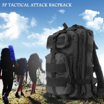 Backpack RFID Blocking Bag Hiking Sport Outdoor Military RucksacksTactical Backpack Camping Trekking Bag Green - intl