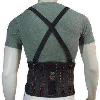 BODYCARE #BS03 Back Support Belt, 5pcs Stabilzer Lumbar Support, Knitted Mesh Fabric Air-Flow Waist Wrap Unisex