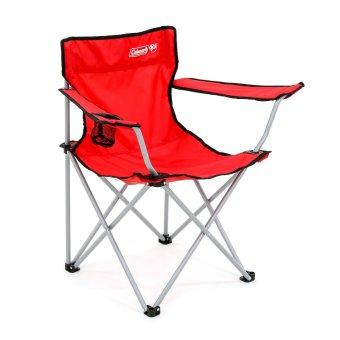 Coleman Go! Quad Arm Chair Red