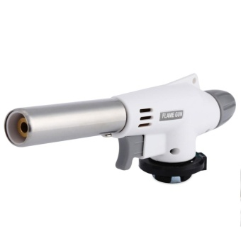 Fabulous Outdoor Auto Flame Ignition Gas Torch Camping Hiking BBQ Stove Flamethrower - intl