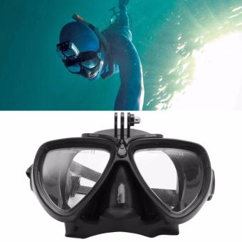 GoPro Accessories for Scuba Dive and Snorkel Diving Mask Swimming Goggles Tempered glasses