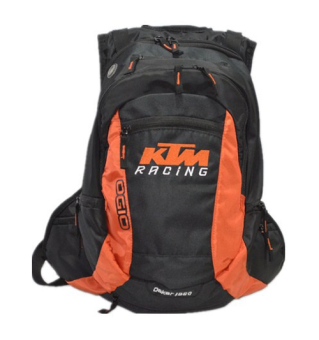 KTM motorcycle backpack motocross motorized waterproof cover backpack outdoor camping hiking package bag (black) - intl