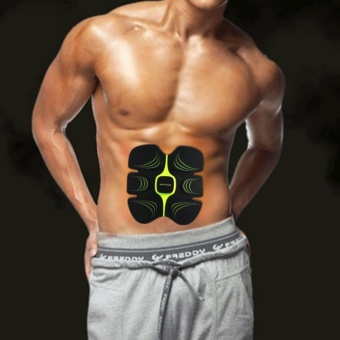 Muscle Training Fitness Gear Pad Abdominal Exercisers With ToningBelt - intl