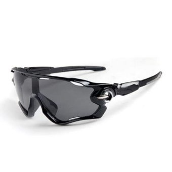 Outdoor Unisex Sunglasses Glasses Polarized For UV400 CyclingBicycle Driving - intl