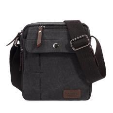 ... Business Bag Khaki Intl. 360DSC Kaukko FJ49 Canvas Men s Crossbody Bag Single Shoulder Bag Messenger Bag Travel Bag Black