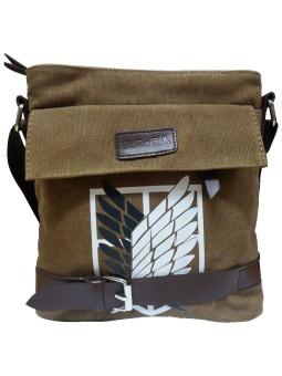 Anime Attack on Titan Scouting Legion Shoulder Bag (Brown)