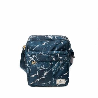 BENCH- BGM0601BU3 Printed Sling Bag (Blue)