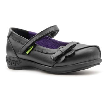 Bibo Shoes 1880 Kid Girl Shoes (Black)