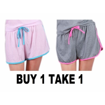 BUY 1 TAKE 1 Outperformer Cotton Rich Sports Shorts with Drawstring