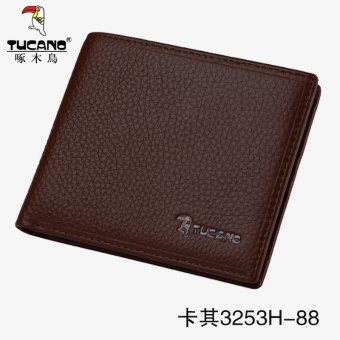 Casual first layer of leather business soft leather wallet (Casual 3253H-88) (Casual 3253H-88)