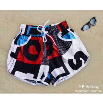 Casual women's beach pants beach shorts (02) (02)