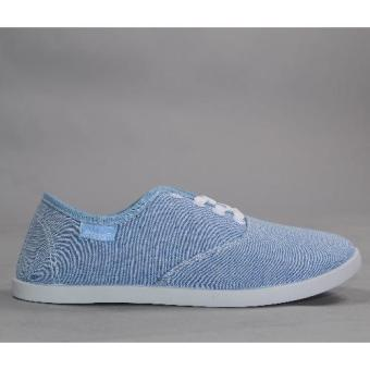 Crissa Steps Cha Laced-up Shoes (Blue)