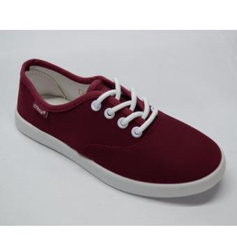 Crissa Steps Laced-up shoes (Maroon)