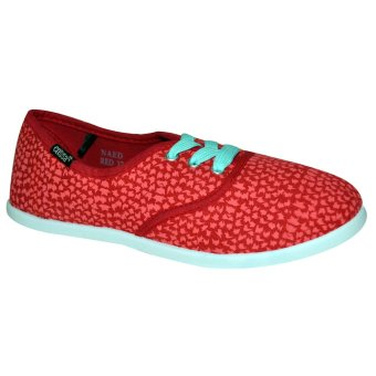 Crissa Steps Naed Laced-Up Shoes (Red)