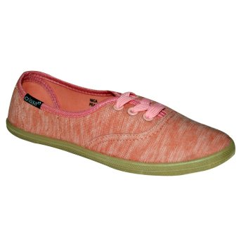 Crissa Steps Nica Laced-Up Shoes (Peach)
