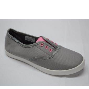 Crissa Steps Slip-on shoes (Gray)