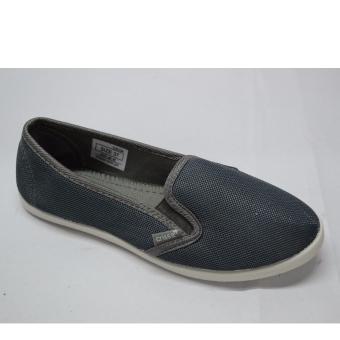 Crissa Steps Slip-on shoes (Gray)