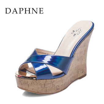 Daphne spring and summer sandals (Dark blue 161)