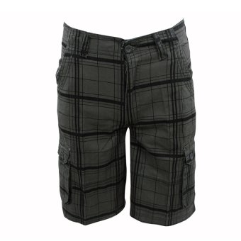 DIERDANI D-510 Men Short 6 Pocket(Black)