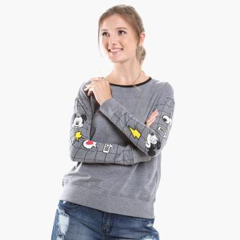 Disney Mickey Mouse Teens Sweatshirt (Gray)