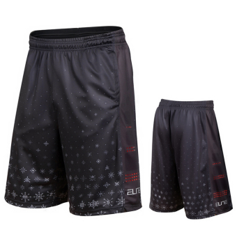 Elite Christmas breathable quick-drying fitness shorts