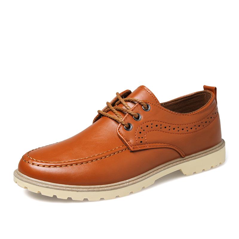 pinsv mens fashion casual oxfords shoes brown lazada ph